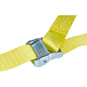 CAMPZ Lashing Belt with Double S-Hook 3,5cm x 2m, yellow